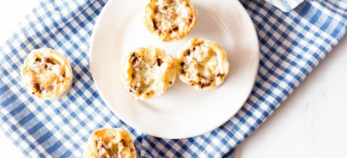 Mini Sloppy Joe Pies