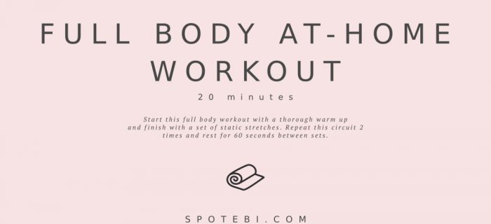20-Minute Full Body At-Home Workout
