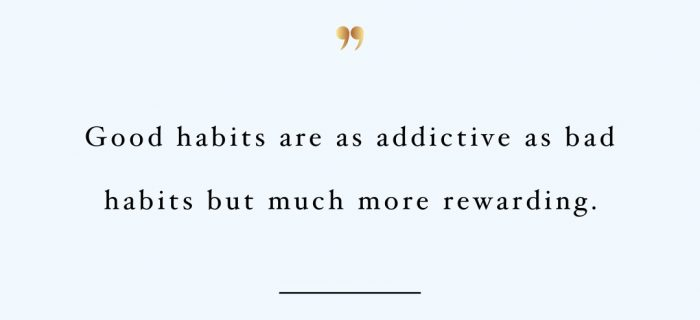 Addicted To Good Habits | Exercise And Healthy Lifestyle Inspiration