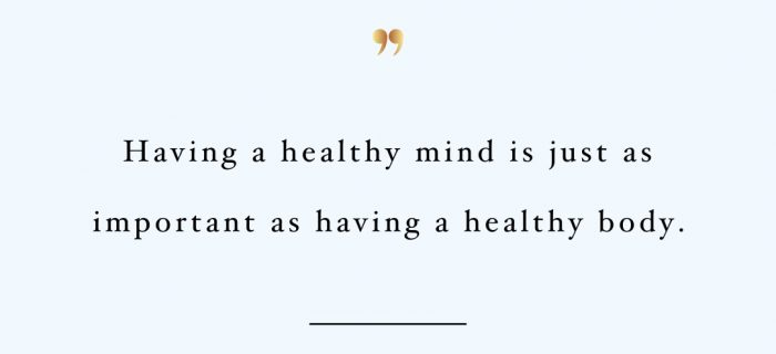Healthy Mind Healthy Body | Exercise And Healthy Lifestyle Inspirational Quote