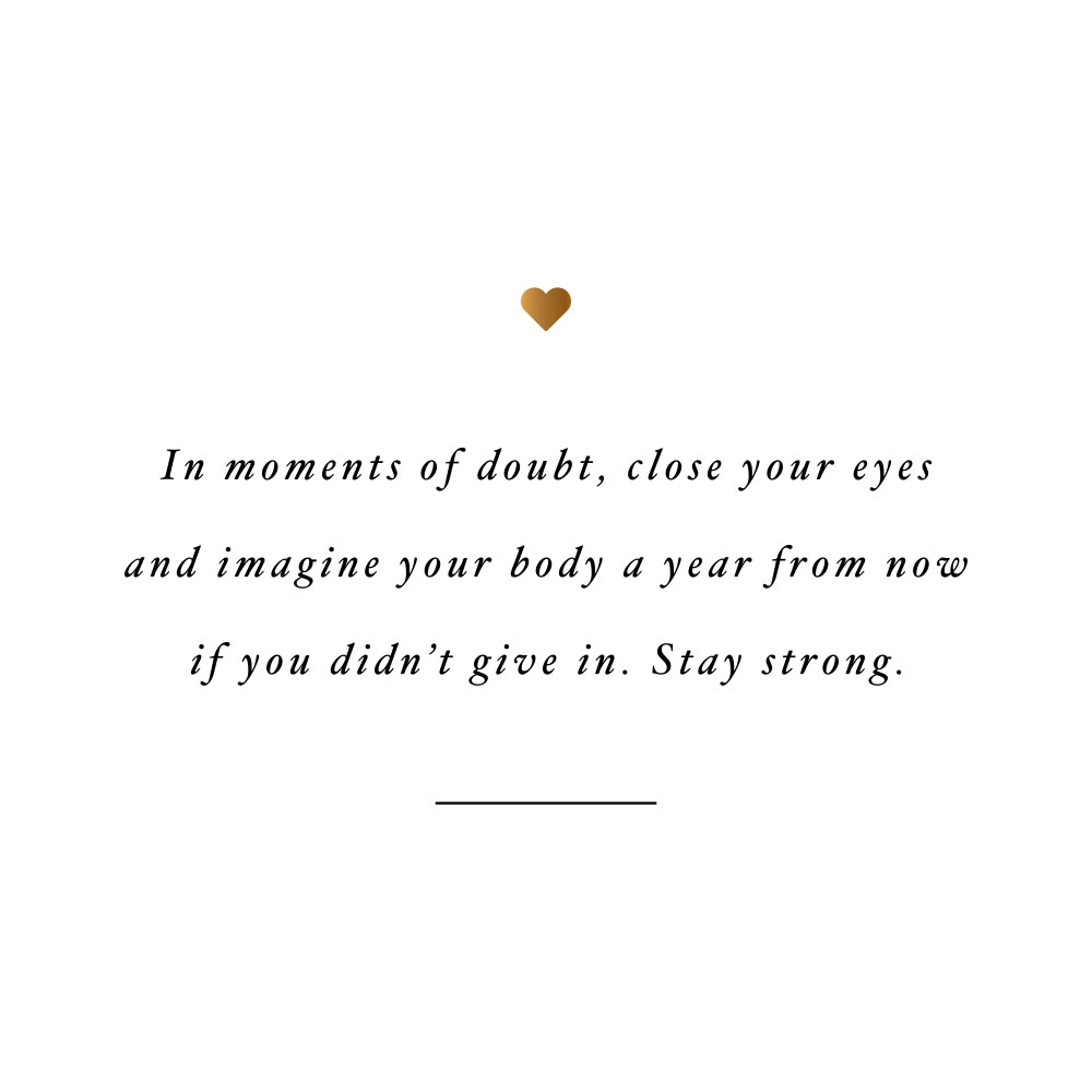 Stay strong! Browse our collection of inspirational fitness and self-care quotes and get instant exercise and healthy lifestyle motivation. Stay focused and get fit, healthy and happy! https://www.spotebi.com/workout-motivation/stay-strong/