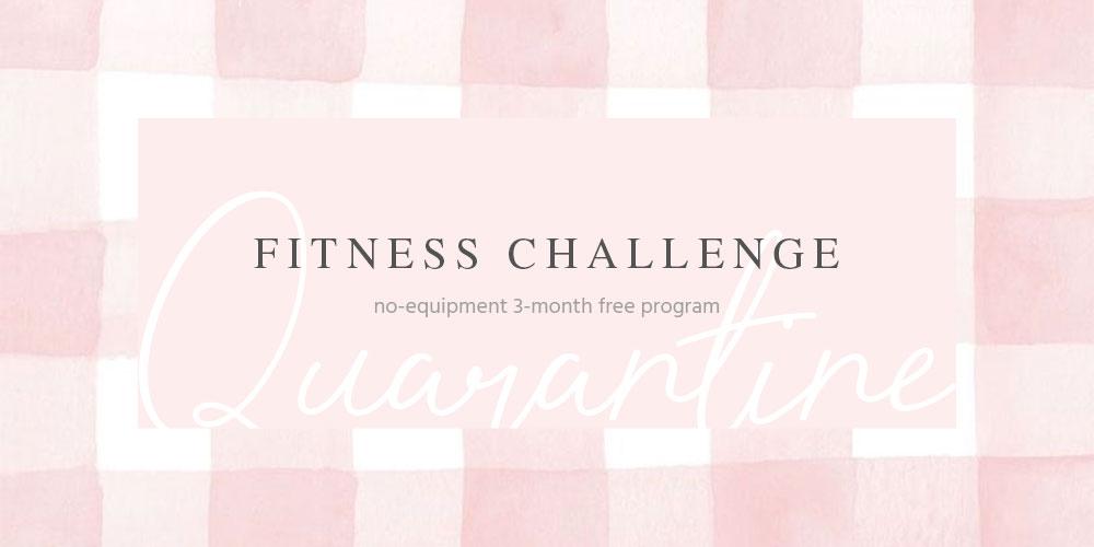Quarantine Fitness Challenge | Spotebi