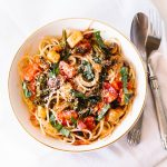 Rustic Tomato Basil Vegetable Pasta