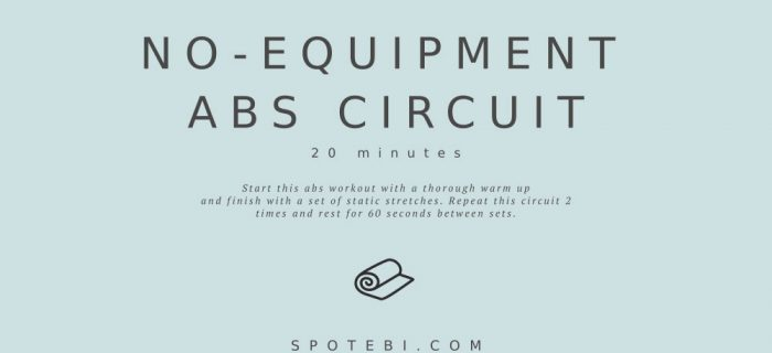 20-Minute No-Equipment Abs Circuit