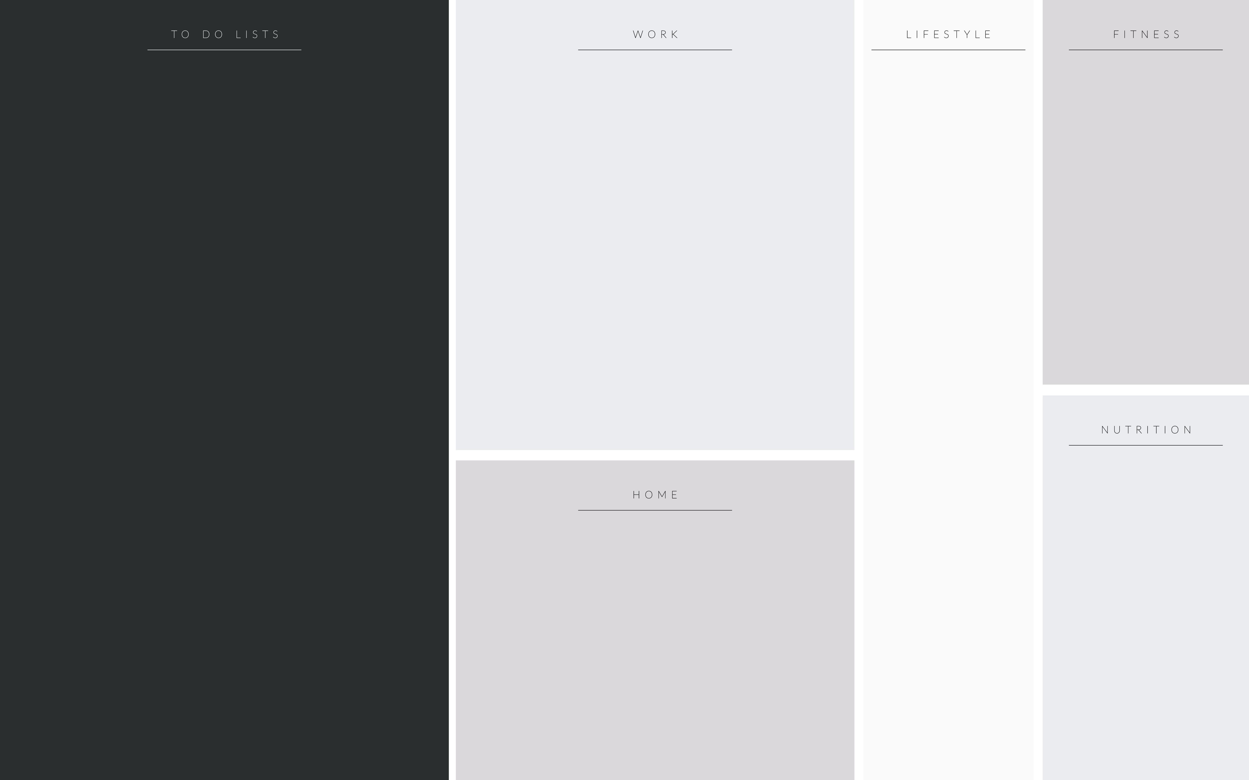 Organizational Wallpaper Desktop